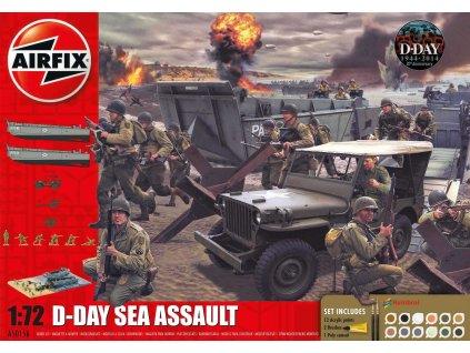 Gift Set diorama A50156A D Day 75th Anniversary Sea Assault 1 72 a99096483 10374