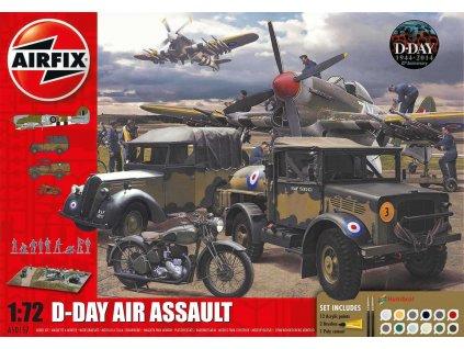 Gift Set diorama A50157A D Day 75th Anniversary Air Assault 1 72 a99096503 10374