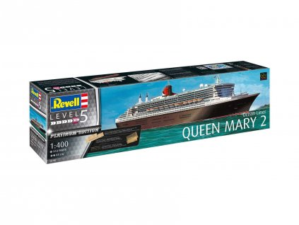 Plastic ModelKit lod Limited Edition 05199 Queen Mary 2 Platinum Edition 1 400 a99290314 10374