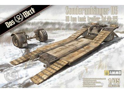 Sonderanhänger 115 - 10t Tank Trailer Sd.Ah.115 1:35
