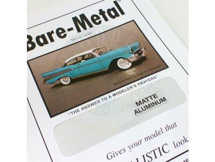 bm0003 matte aluminum bare metal foil