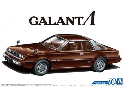 1978 Mitsubishi Galant A133A Lambda 1:24