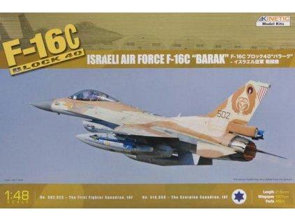 F-16C Block 40 IDF Baraka 1:48