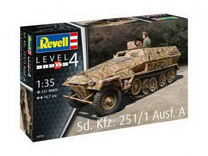Plastic ModelKit military 03295 Sd Kfz 251 1 Ausf A 1 35 a109310186 10374