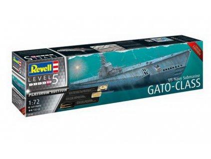 05168 k p w us navy submarine gato class 2