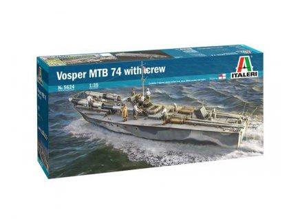 Model Kit lod 5624 Vosper MTB 74 with crew 1 35 a109503805 10374
