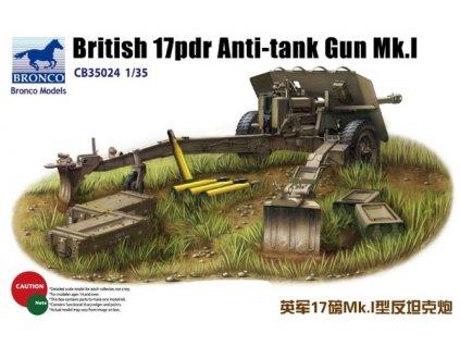 British 17pdr Anti-tank gun Mk.I 1:35
