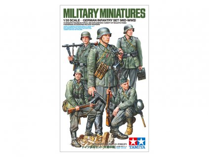 German Infantry Mid WWII 1:35