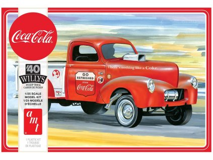 1940 Willys Pickup Gasser (Coca-Cola) 1:25