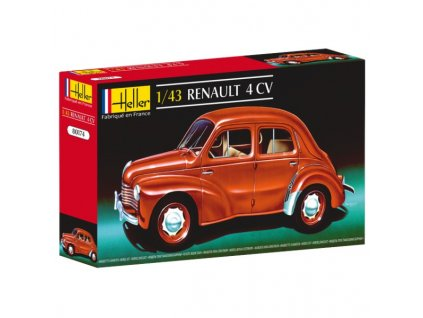 Renault 4 CV 1:43