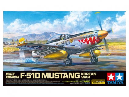 F-51D Mustang Korean War 1:32