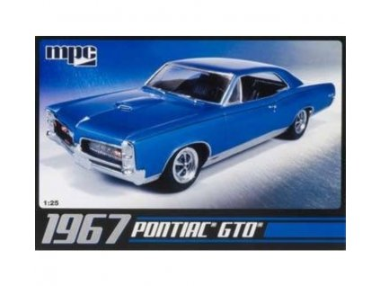 mpc mpc mpc710l 1 25 67 pontiac gto plastic model