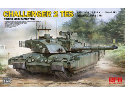 British Main Battle Tank Challenger 2 TES 1:35