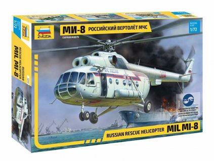Model Kit vrtulnik 7254 MIL Mi 8 Rescue Helicopter 1 72 a109312970 10374