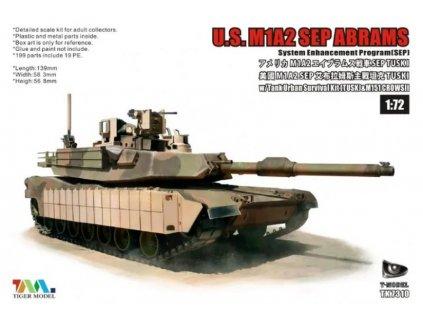 US M1A2 Abrams SEP SEP TUSK I MBT 1:72
