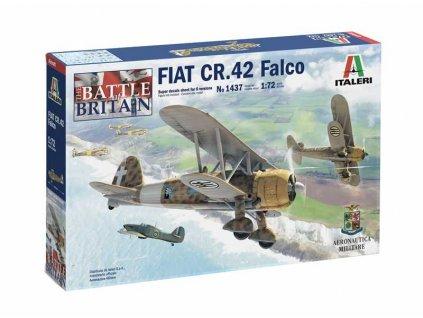 Model Kit letadlo 1437 FIAT CR 42 Falco 1 72 a110159351 10374