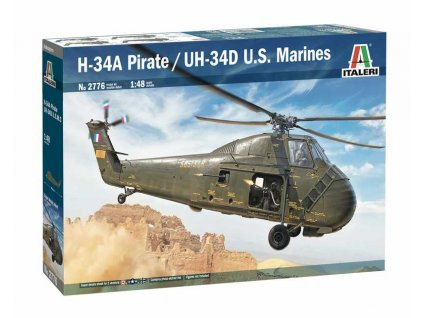 Model Kit vrtulnik 2776 H 34A Pirate UH 34D U S Marines 1 48 a76010135 10374