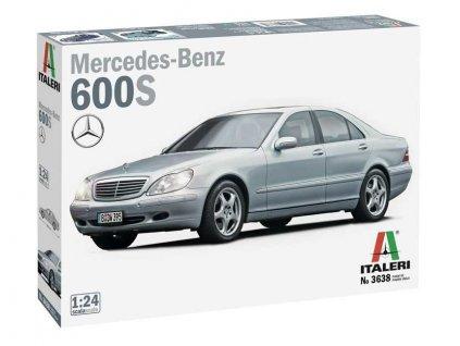 Model Kit auto 3638 Mercedes Benz 600S 1 24 a110159841 10374