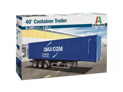 Model Kit truck 3951 40 Container Trailer 1 24 a110159731 10374