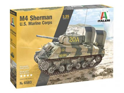 Model Kit military 6583 M4 SHERMAN U S MARINE CORPS 1 35 a110159677 10374