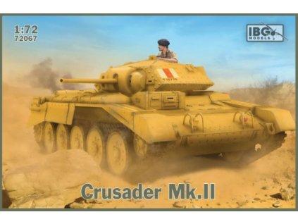 Crusader Mk. II - British Cruiser Tank 1:72
