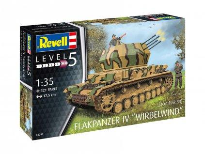 Plastic ModelKit military 03296 Flakpanzer IV Wirbelwind 1 35 a109310212 10374