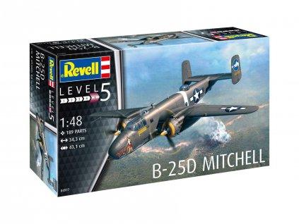 Plastic ModelKit letadlo 04977 B 25D Mitchell 1 48 a109309743 10374