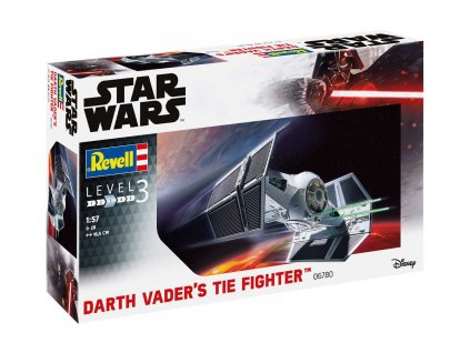 Plastic ModelKit SW 06780 Darth Vader s TIE Fighter 1 57 a109308331 10374