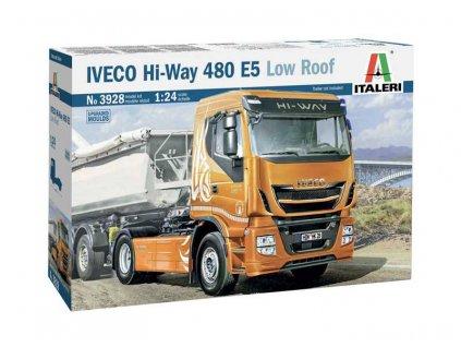 Model Kit truck 3928 IVECO HI WAY 490 E5 Low Roof 1 24 a76011017 10374