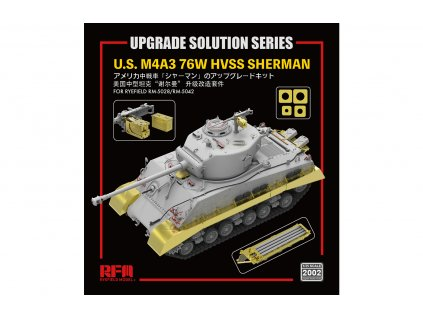 U.S M4A3 76W HVSS SHERMAN upgrade solution 1:35