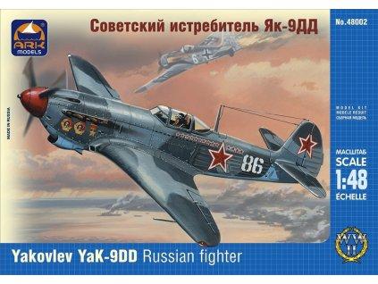 Yakovlev Yak-9DD Russian fighter 1:48