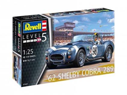 Plastic ModelKit auto 07669 62 Shelby Cobra 289 1 25 a109310042 10374