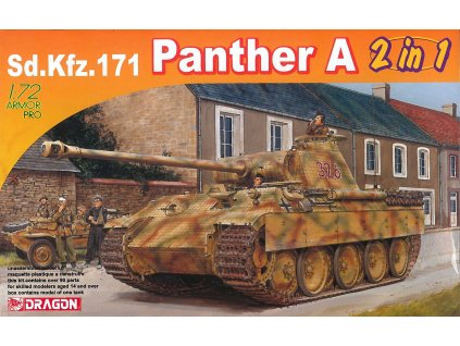 Model Kit tank 7546 Sd Kfz 171 Panther A 2 in 1 1 72 a112141958 10374