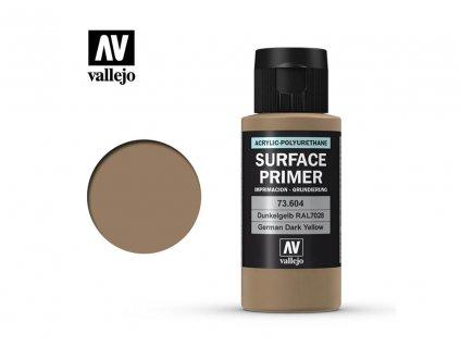 Vallejo Surface Primer German Dark Yellow 60ml