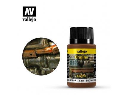 vallejo weathering effects brown engine soot 73818