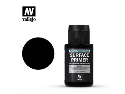 vallejo surface primer gloss black 77660 35ml
