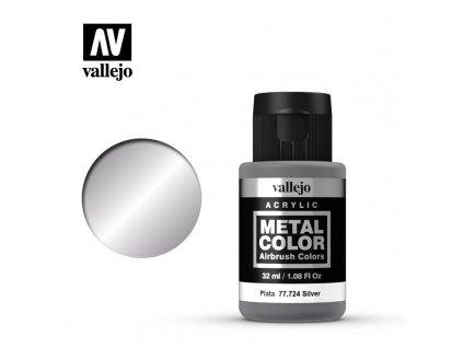 metal color vallejo silver 77724