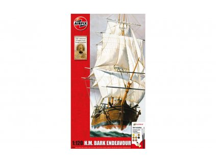 Gift Set lode A50047 Endeavour Bark and Captain Cook 250th anniversary 1 120 a109444616 10374
