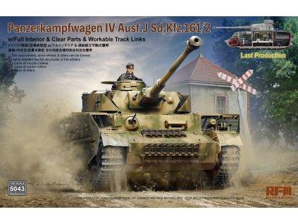 Panzer IV Ausf.J last production - full interior 1:35