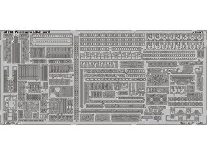 Detaily pre Prinz Eugen (Trumpeter) 1:350