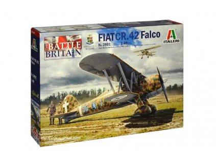 Model Kit letadlo 2801 FIAT CR 42 Falco 1 48 a110159429 10374