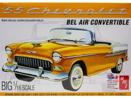 1955 Chevy Bel Air Convertible 1:16
