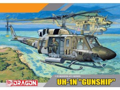 Model Kit vrtulnik 3540 UH 1N GUN SHIP 1 35 a64295012 10374