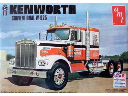 Kenworth W925 Watkins Conventional Semi Trucker 1:25