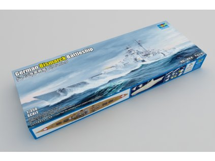 German Bismarck Battleship 1:350