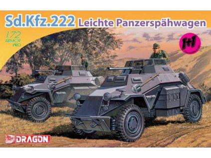 Model Kit military 7393 Sd Kfz 222 LEICHTE PANZERSPAHWAGEN 1 72 a64298178 10374