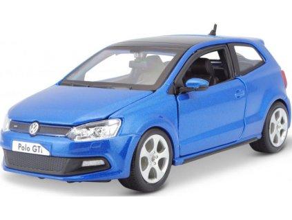 VW Polo GTi Mark 5 (blue) 1:24