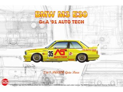 BMW M3 E30 Group A 1991 Auto Tech 1:24