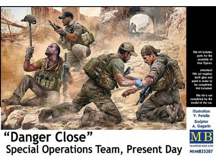 Danger Close - Special operation team 1:35