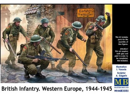 British Infantry West Europe 1944-45 1:35